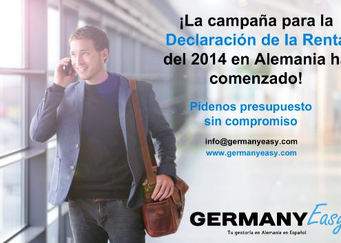 Declaración de la renta Alemania 2014